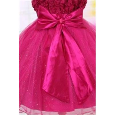 - 50 % Robe fillette Arum fuschia 5/6 ans princesse