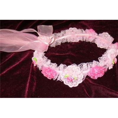 - 50 % Couronne rose fillette